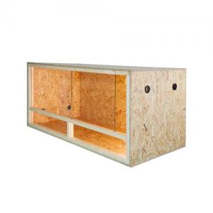 Terrario de madera reptiles