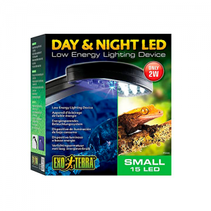Led dia y noche reptiles