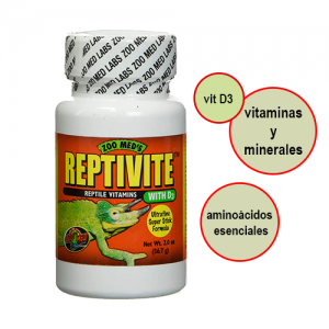 vitaminas reptiles